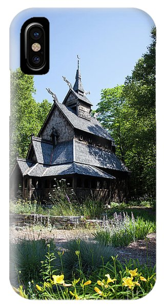 Stavkirke Church IPhone Case