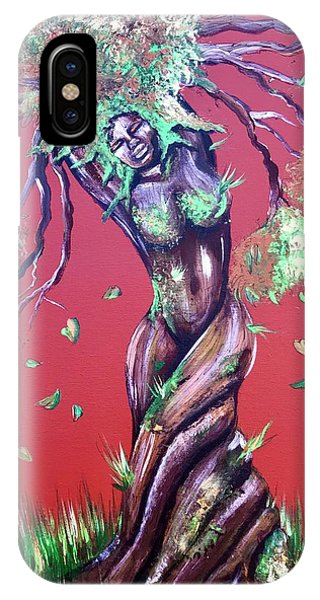 iPhone Case - Stay Rooted- Stay Grounded by Artist RiA