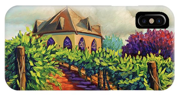 Ste Chappelle Winery IPhone Case