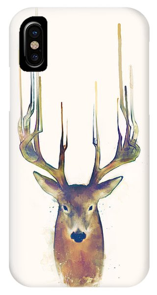 Stag iPhone Case - Steadfast by Amy Hamilton