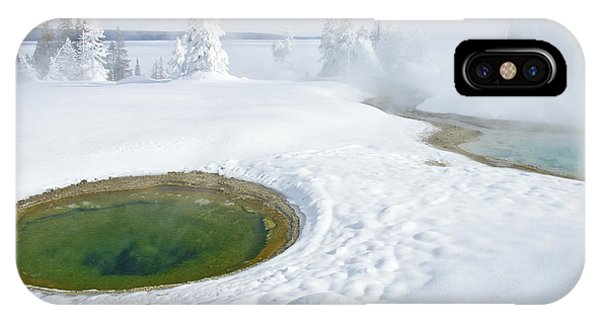 Steam And Snow IPhone Case