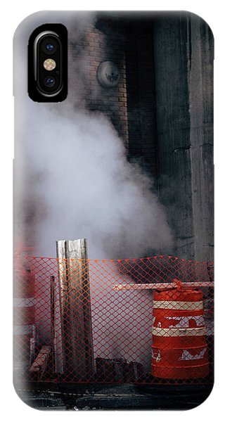 Chris Walter iPhone Case - Steam by Chris Walter