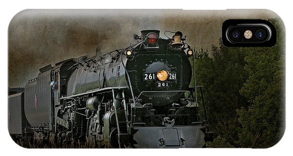 Steam Engine 261 IPhone Case