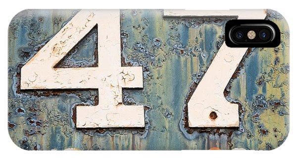 Steam Engine 47 IPhone Case