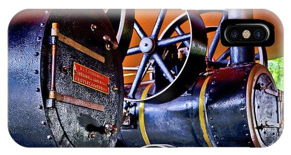 Steam Engines - Locomobiles IPhone Case