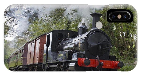 Steam Locomotive 3298 In Cornwall IPhone Case