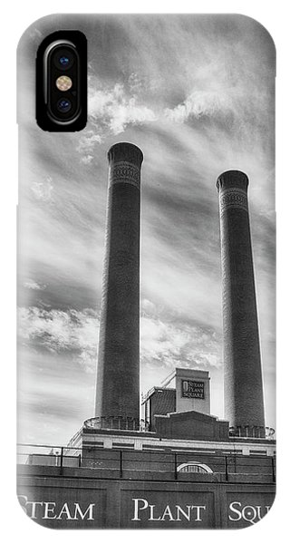 Steam Plant Square IPhone Case