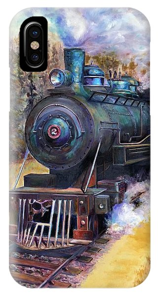 Steam Through The Pines IPhone Case