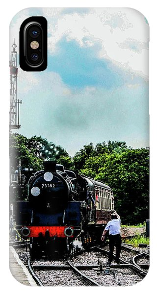 Steam Train Approaching IPhone Case