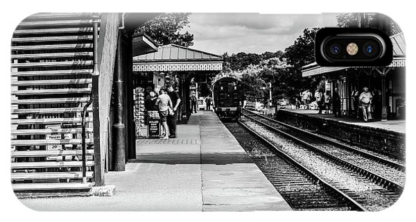 Steam Train In The Station IPhone Case