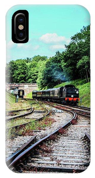 Steam Train Nr The Bridge IPhone Case