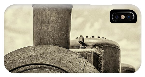 IPhone Case featuring the photograph Steam Train Series No 2 by Clare Bambers