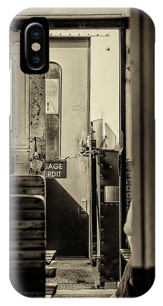 IPhone Case featuring the photograph Steam Train Series No 33 by Clare Bambers
