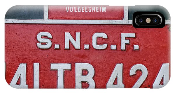 IPhone Case featuring the photograph Steam Train Series No 38 by Clare Bambers