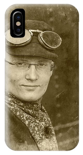 IPhone Case featuring the photograph Steam Train Series No 39 by Clare Bambers