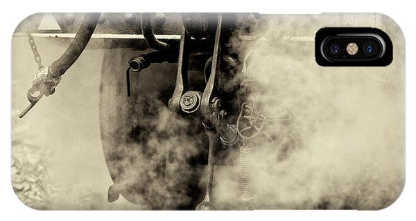 IPhone Case featuring the photograph Steam Train Series No 4 by Clare Bambers