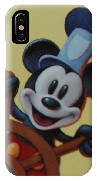 iPhone Case - Steamboat Willy by Rob Hans