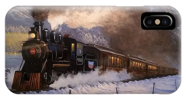Steamin South IPhone Case