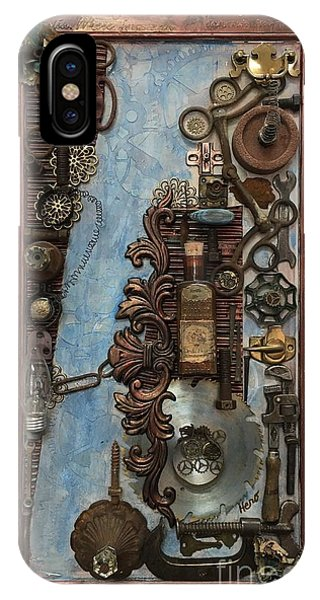 Steampunk 1 IPhone Case