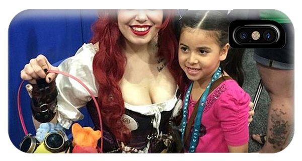 Steampunk iPhone Case - Steampunk Ariel #wondercon #wc2016 by Claudia Garcia Trejo