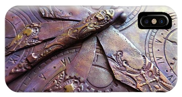 Steampunk Dragonfly IPhone Case