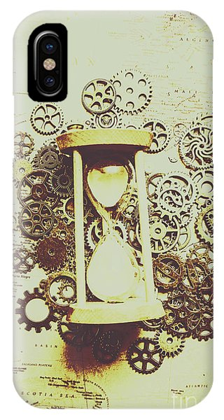 Past iPhone Case - Steampunk Time by Jorgo Photography - Wall Art Gallery