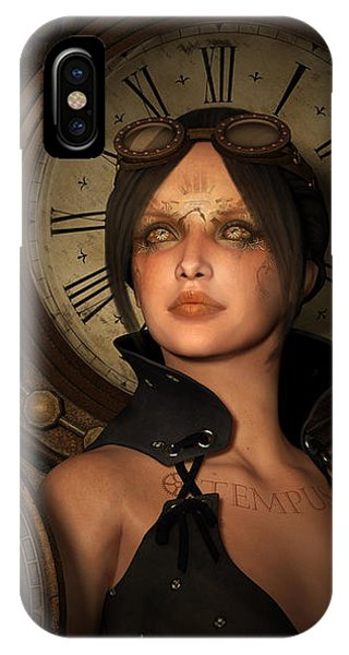Steampunk Time Keeper IPhone Case