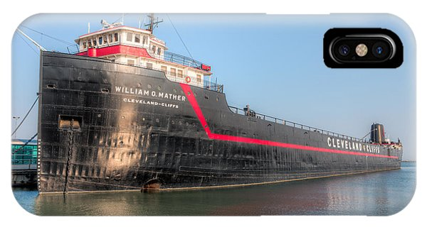 Steamship William G. Mather I IPhone Case