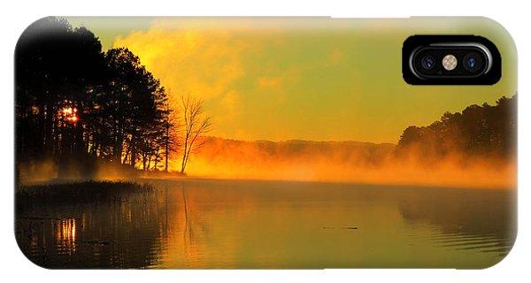 Steamy Sunrise IPhone Case