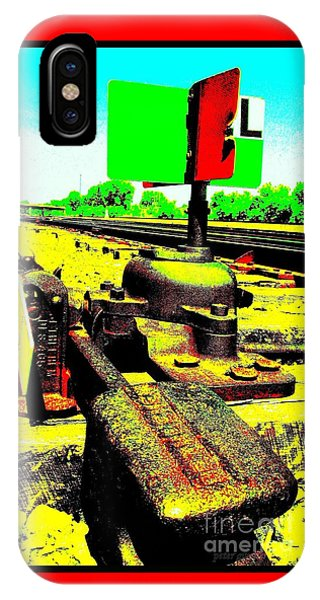 Steel Diesel Track Signal IPhone Case