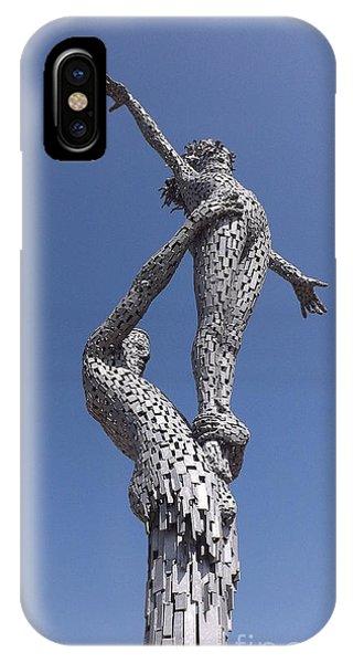 Steel People IPhone Case