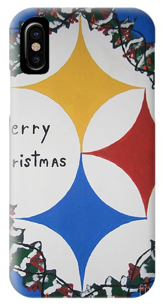 Steelers Christmas Card IPhone Case
