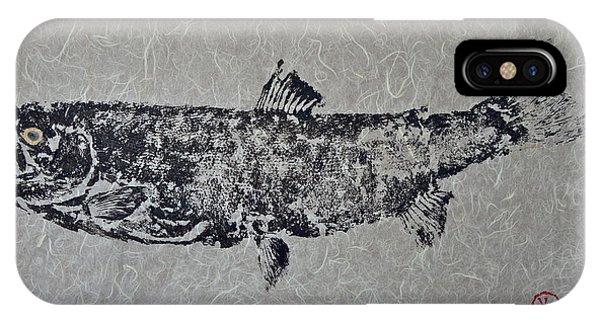 Steelhead Salmon - Smoked Salmon IPhone Case