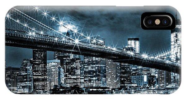 Steely Skyline IPhone Case