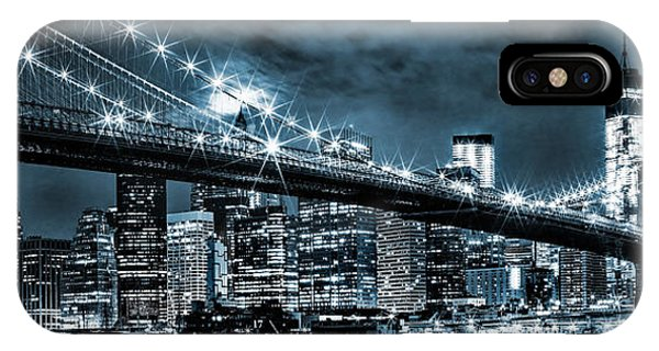 Steely Skyline IPhone Case