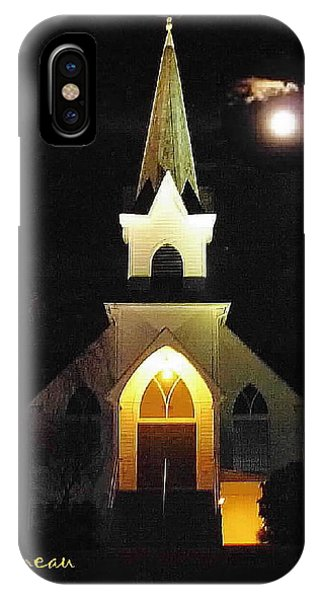 Steeple Chase 3 IPhone Case