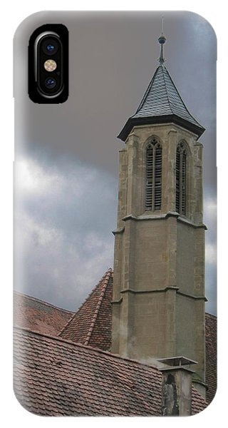 IPhone Case featuring the photograph Steeple by Dylan Punke