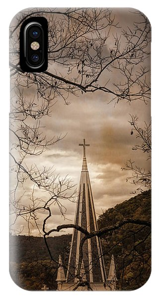 Steeple Of Time IPhone Case