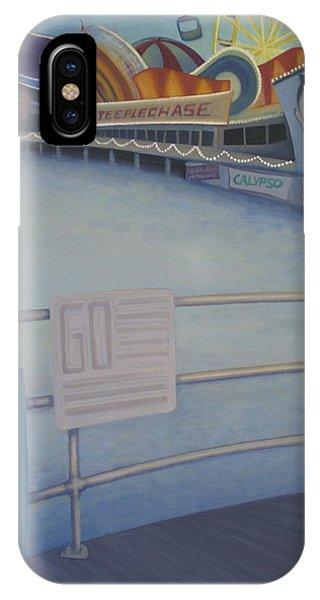 Steeplechase Pier IPhone Case