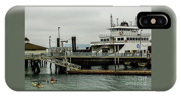 Steilacoom Ferry,washington State IPhone Case