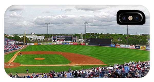 Grapefruit League iPhone Case - Steinbrenner Field 2 by C H Apperson