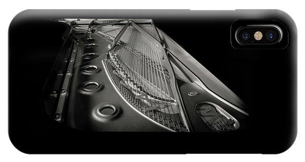 Steinway Guts Bw IPhone Case