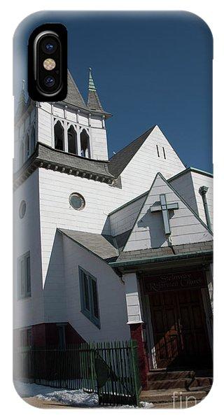 Steinwy Reformed Church Steinway Reformed Church Astoria, N.y. IPhone Case
