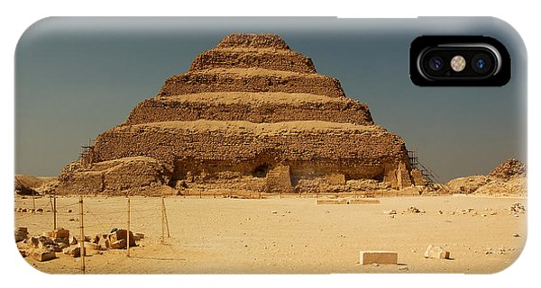 Step Pyramid 2 IPhone Case