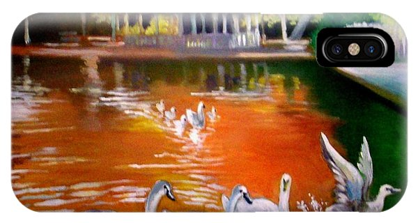 Stephens Green Dublin Ireland IPhone Case