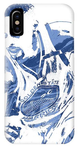 Tickets iPhone Case - Stephen Curry Golden State Warriors Pixel Art 8 by Joe Hamilton