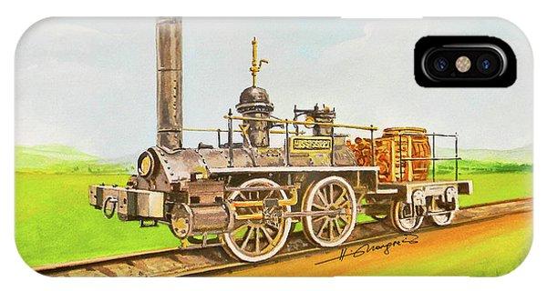 iPhone Case - Steam Engine Mississippi by Johannes Margreiter