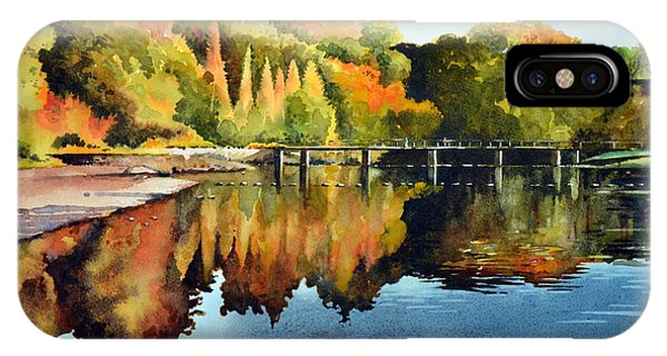 iPhone Case - Stepping Stones Bolton Abbey by Paul Dene Marlor