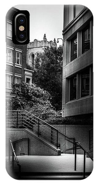 Steps In Charlotte IPhone Case