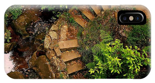 Steps Leading Up The Stairway To Heaven IPhone Case